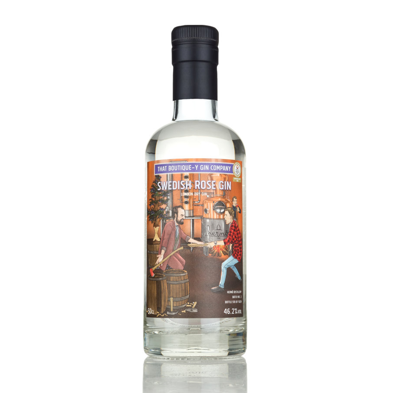 That Boutique-Y Herno Swedish Rose Gin