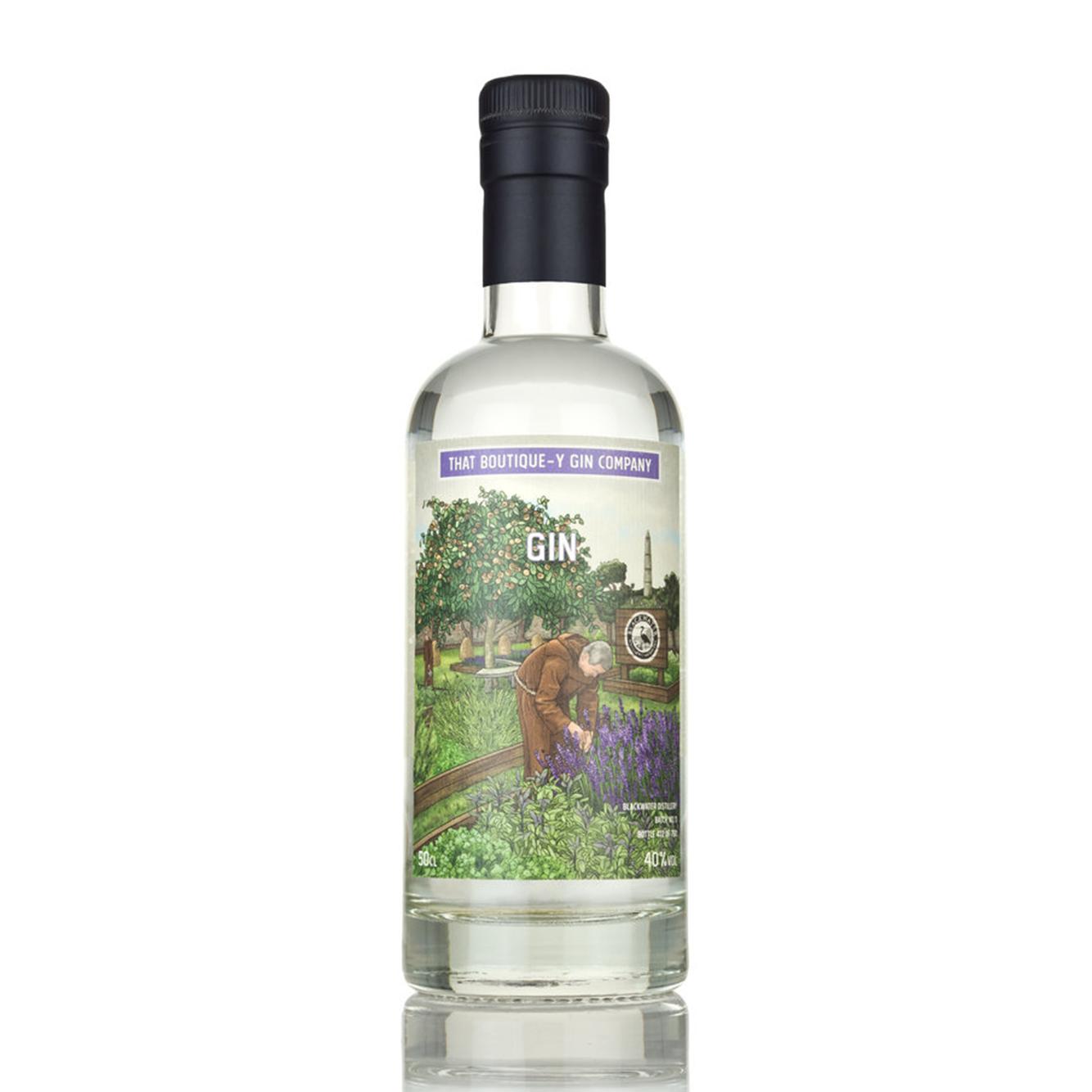 That Boutique-Y Blackwater Monastic Gin