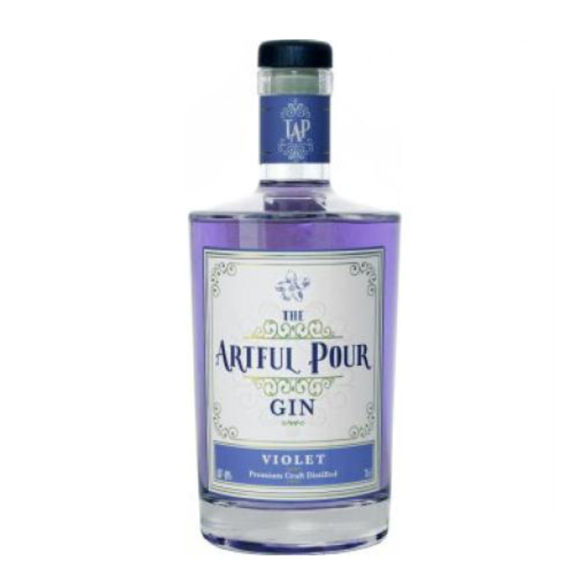 The Artful Pour Violet Gin