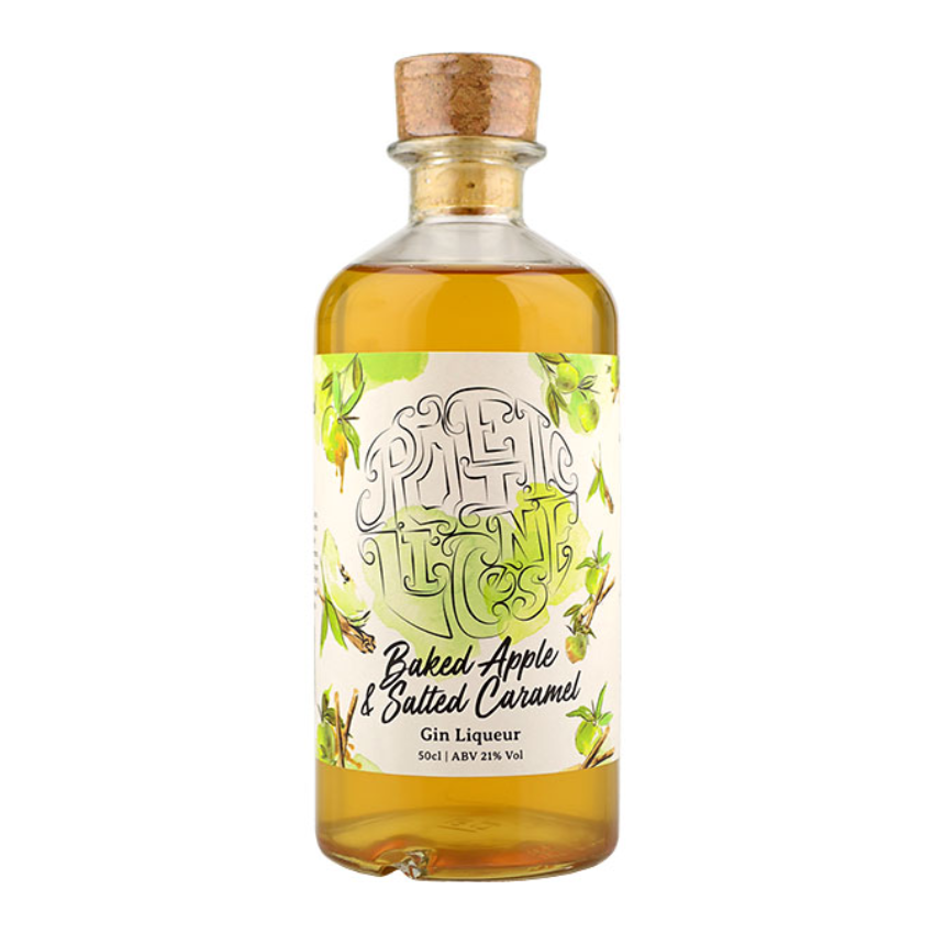 Poetic License Baked Apple & Salted Caramel Gin Liqueur