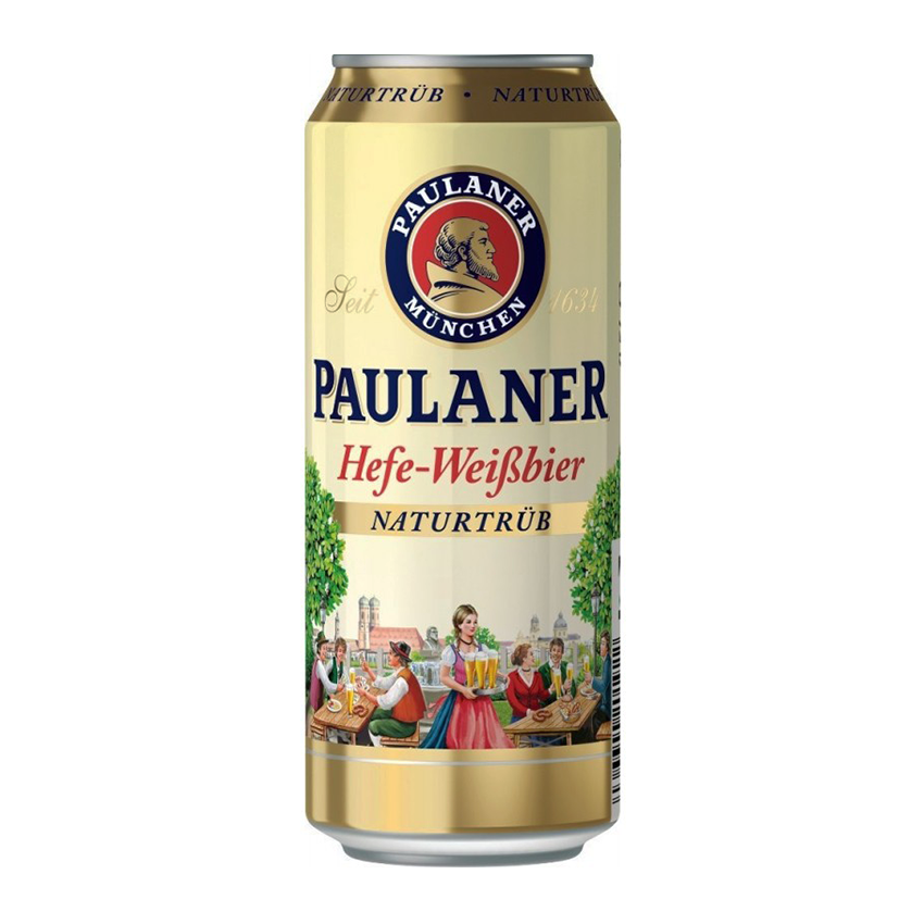 Paulaner Hefe-Weißbier Can