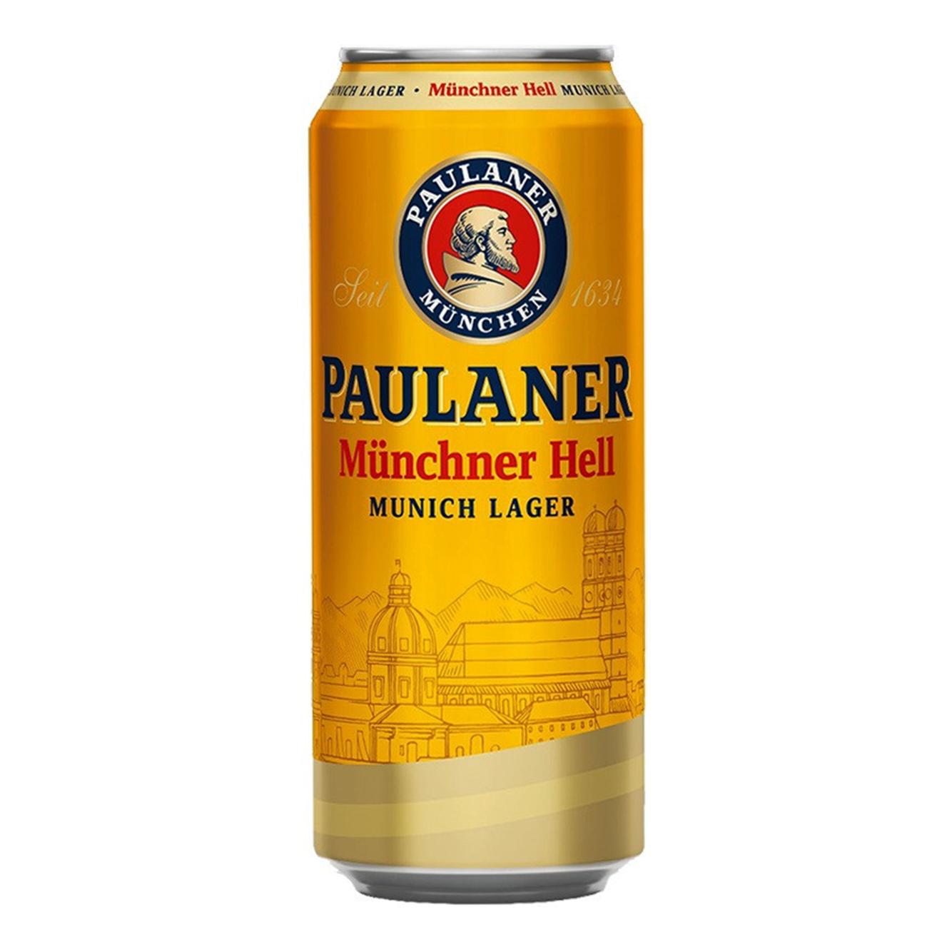 Paulaner Münchner Hell Lager Can