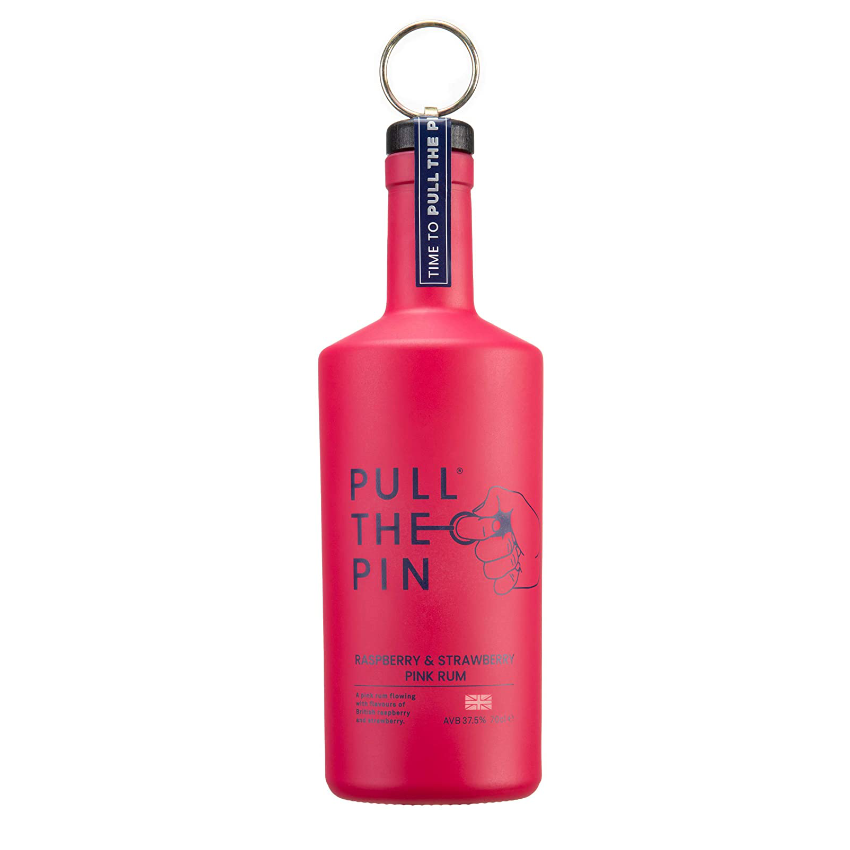 Pull The Pin Raspberry & Strawberry Rum