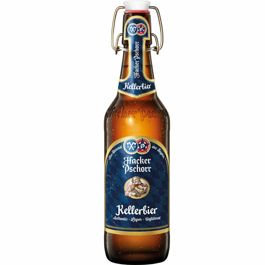 Hacker Pschorr Kellerbier Bottle
