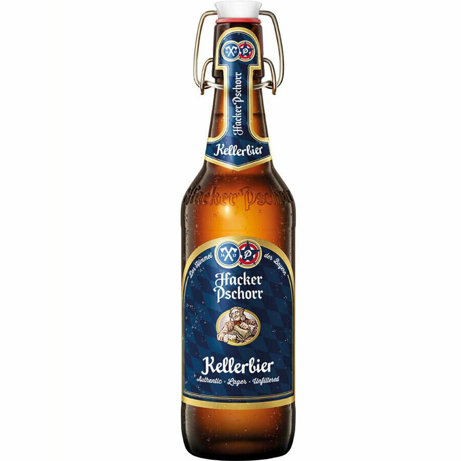 Hacker Pschorr Kellerbier Bottle