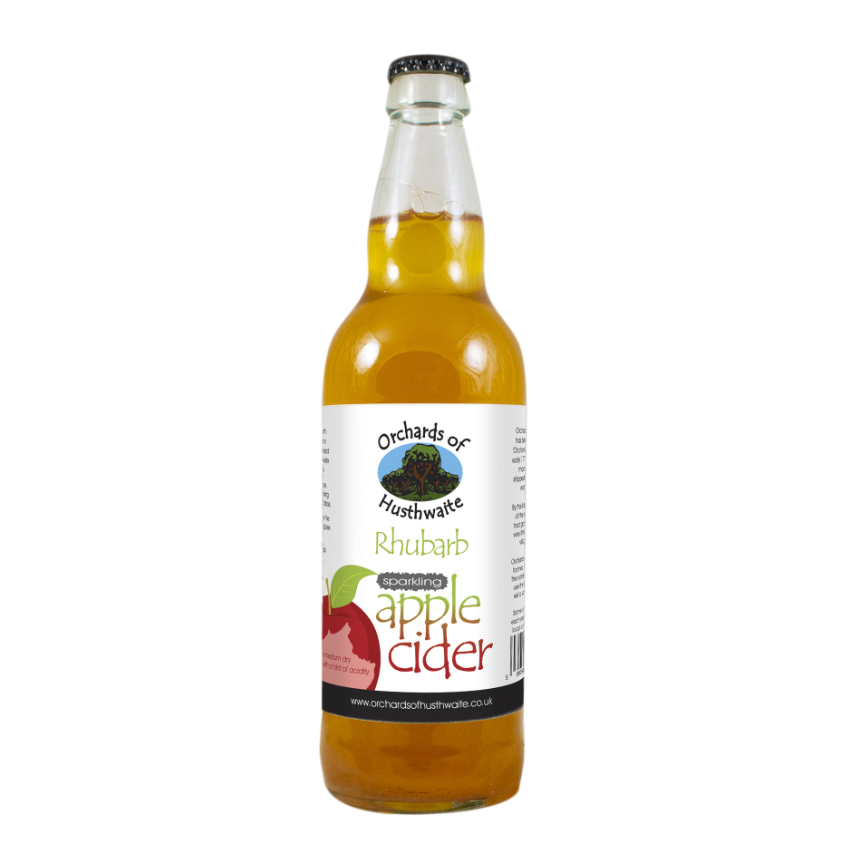 Orchards of Husthwaite Rhubarb Cider