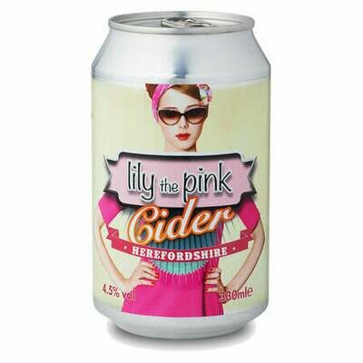 Celtic Marches Lily The Pink 330ml Can