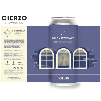Cierzo Shadow Play Stout