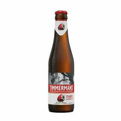 Timmermans Strawberry Lambic Bottle