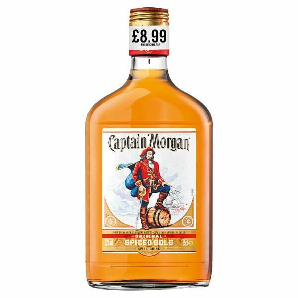 Captain Morgan's Spiced Gold Rum