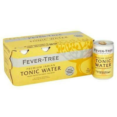 Fever-Tree Premium Indian Tonic Water 8 x 150ml
