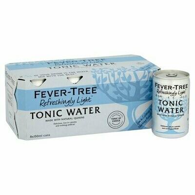 Fever-Tree Light Tonic Water 8 x 150ml
