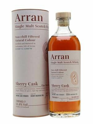 Arran Bodega Sherry Cask Malt Whisky