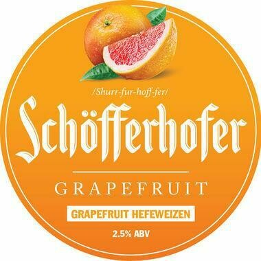Schofferhofer Grapefruit Beer (1.5 or 4 Pints)