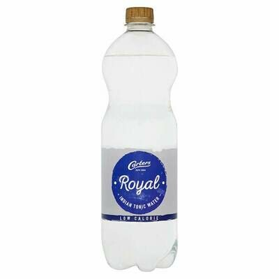 Carters Royal Low Calorie Indian Tonic Water 1 Litre