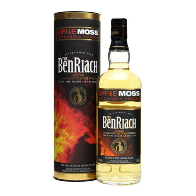 Benriach Birnie Moss Intensely Peated Whisky