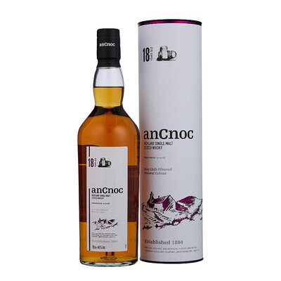 AnCnoc 18yr Old Malt Whisky