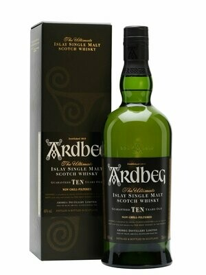 Ardbeg 10 Year Old Malt Whisky