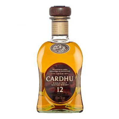 Cardhu 12yr Old Whisky