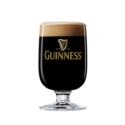 John Martin Guinness Half Pint Glass