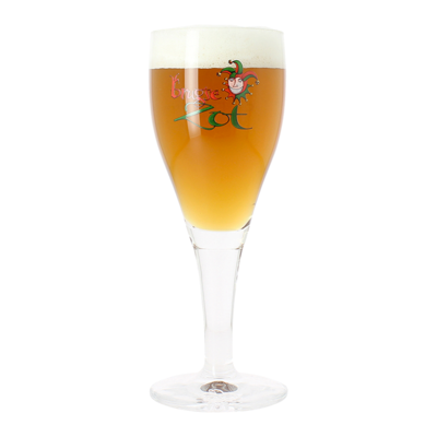 Brugse Zot Pint Glass