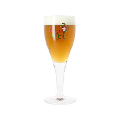 Brugse Zot Half Pint Glass