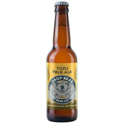 Drop Bear Yuzu Pale Ale Alcohol-Free