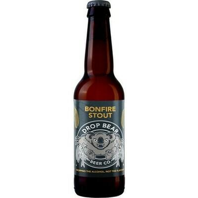 Drop Bear Bonfire Stout Alcohol-Free