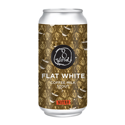 8 Wired Flat White Nitro Stout