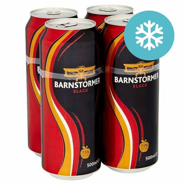 Barnstormer Black Dry Cider 4 Pack