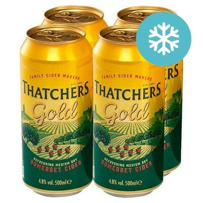 Thatchers Gold Cider 4 Pack