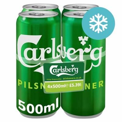 Carlsberg 4 Pack