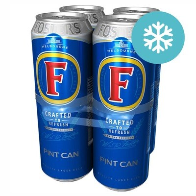 Fosters 4 Pint Pack 4 for £5.50