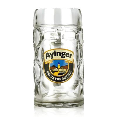 Ayinger 1 Litre Glass Stein