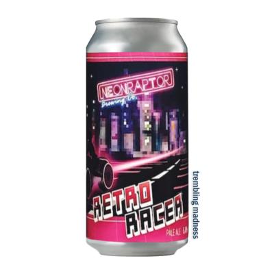 Neon Raptor Retro Racer Pale Ale