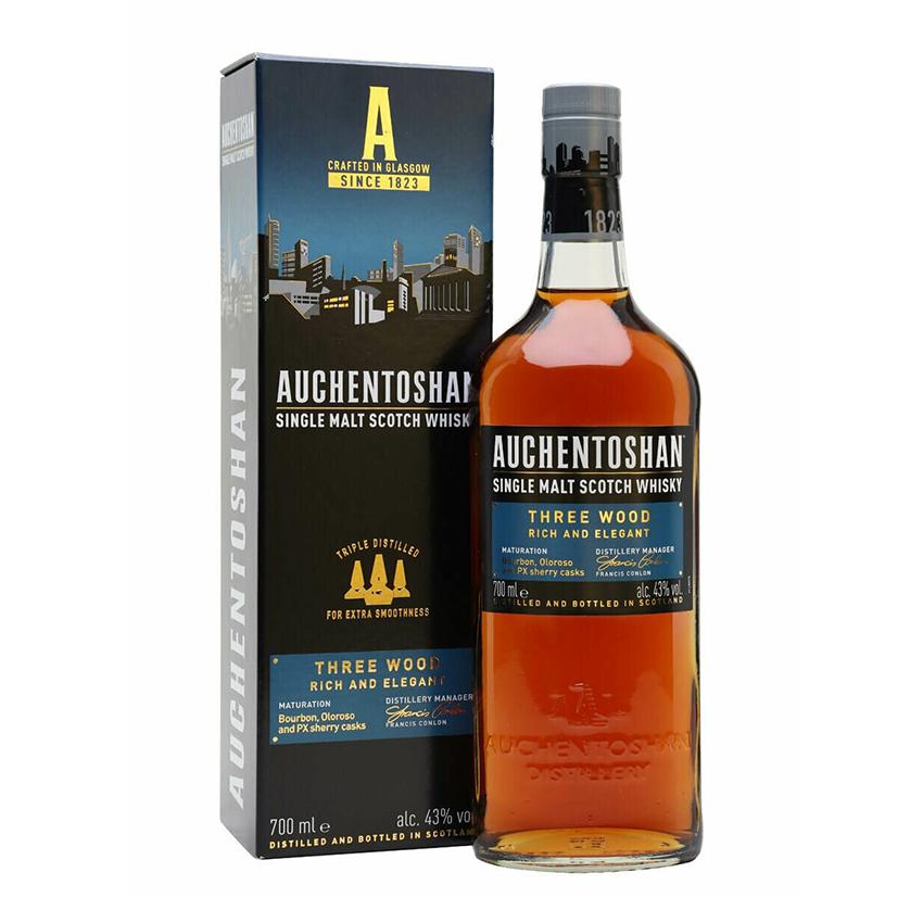 Auchentoshan Three Wood Malt Whisky