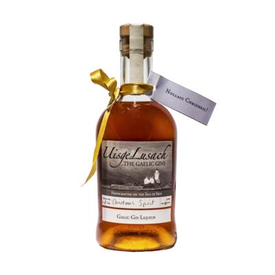 Uisge Lusach Christmas Spirit Gin Liqueur