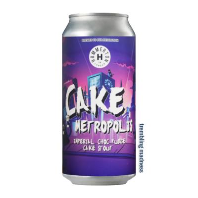 Hammerton Cake Metropolis Imperial Stout