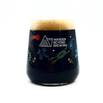 Wander Beyond Craft Beer Glass