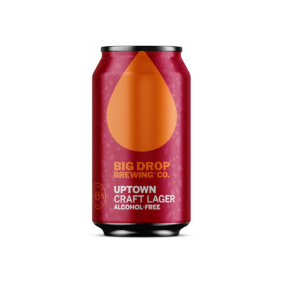 Big Drop Uptown Craft Lager Can