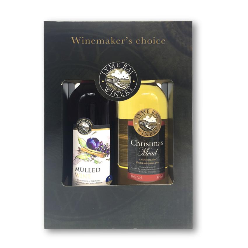 Lyme Bay Two Bottle Mead Gift Set