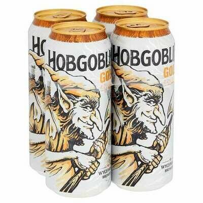 Wychwood Brewery Hobgoblin Gold Beer 4 Pack