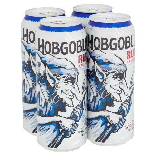 Wychwood Brewery Hobgoblin Ruby Beer 4 Pack