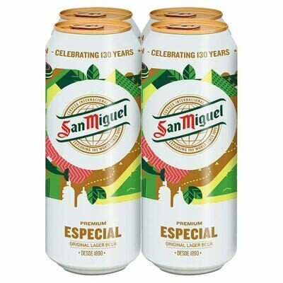 San Miguel Lager 4 Pack