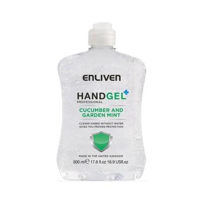 Enliven Hand Gel Cucumber and Garden Mint 550ml