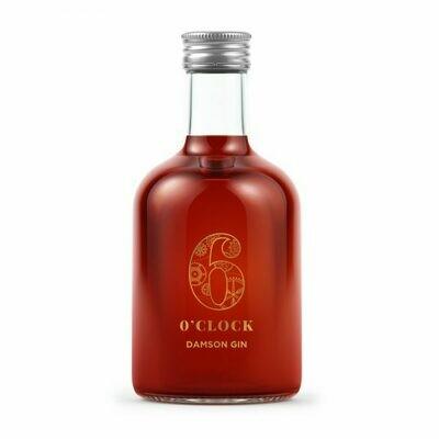 6 O'Clock Damson Gin Liqueur Miniature