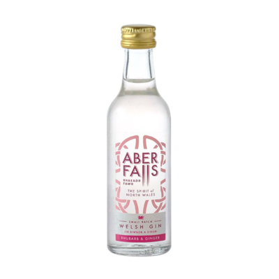 Aber Falls Rhubarb & Ginger Gin Miniature