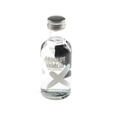 Absolut Vanilia Vodka Miniature