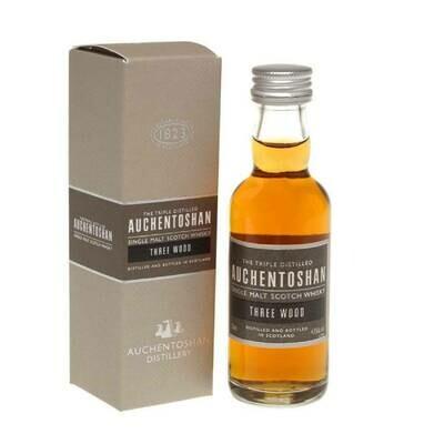 Auchentoshan Three Wood Whisky Miniature