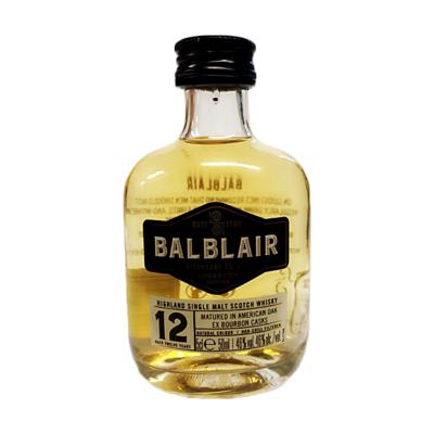 Balblair 12yr Old Whisky Miniature